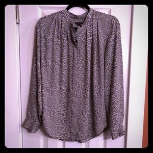 30% Off🛍  NWOT! Ann Taylor Printed Blouse
